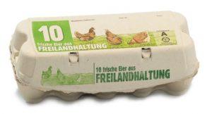 Eierverpackungen Omni-Pac Omni10er freiland
