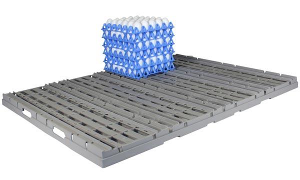 Kunststoffdivider-Zuschnitt Twinpack